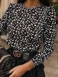 Блуза с длинным рукавом А27941