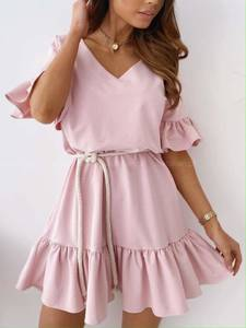Платье короткое летнее А36779