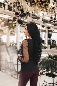 Блуза с длинным рукавом Х7422