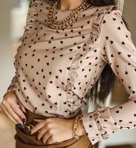 Блуза с длинным рукавом А27943