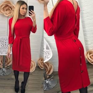 Платье короткое современное Ш0955