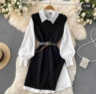 Платье короткое нарядное А13962