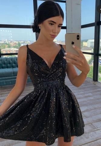 Платье короткое нарядное А14405
