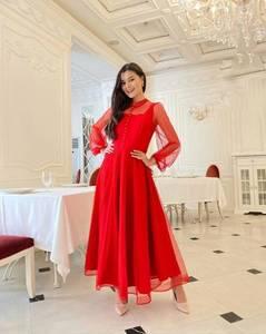 Платье длинное нарядное А19778