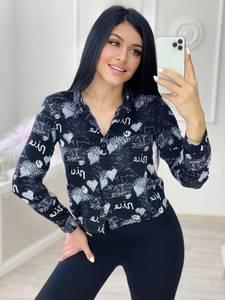 Блуза с длинным рукавом А32129