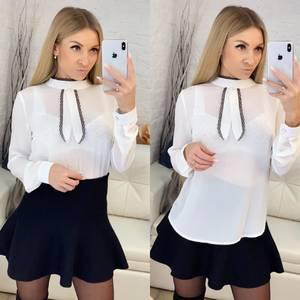 Блуза белая Ц4225