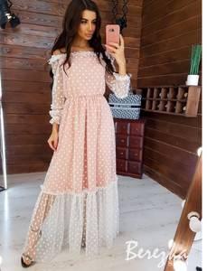 Платье длинное нарядное А16970
