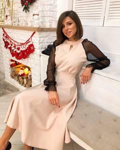 Платье короткое нарядное А19783