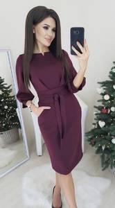 Платье короткое элегантное А17125