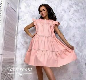Платье короткое летнее А05273