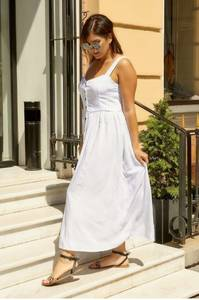 Платье длинное летнее А06132