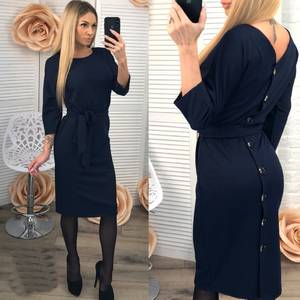 Платье короткое современное Ш0956