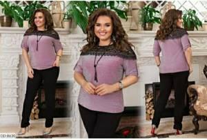 Блуза нарядная А14376