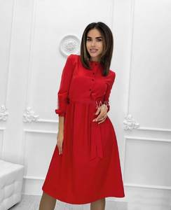 Платье короткое классическое А18785