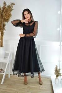Платье длинное нарядное А19779