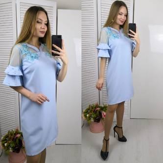 Платье короткое современное Ц4248