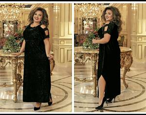 Платье длинное нарядное А15460