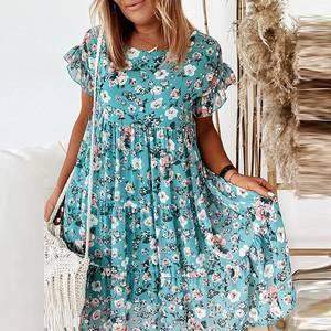 Платье короткое нарядное А31323