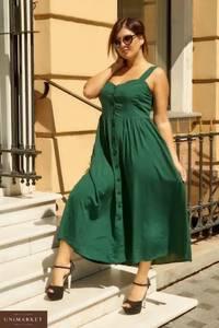 Платье длинное летнее А06133