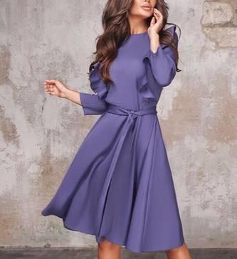 Платье короткое нарядное А14433