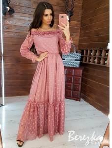 Платье длинное нарядное А16966