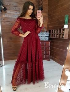 Платье длинное нарядное А16967