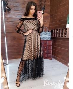 Платье длинное нарядное А16969