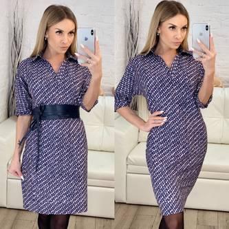 Платье короткое нарядное современное Х3457
