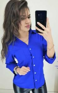 Рубашка однотонная Ш9790