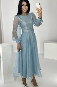 Платье длинное нарядное А37497