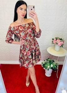Платье короткое летнее Ц6904