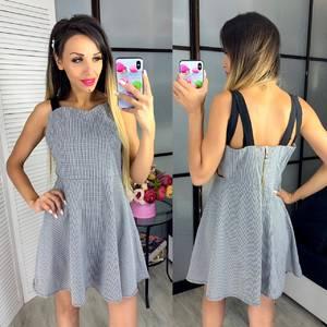 Платье короткое нарядное Ч3282