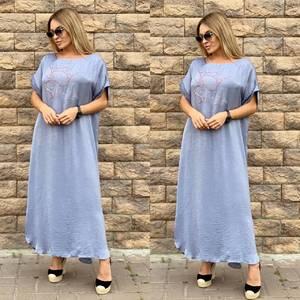 Платье длинное летнее Ч4016