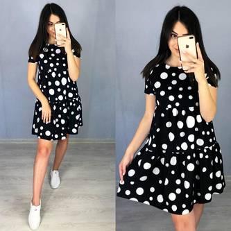 Платье короткое летнее Я6482