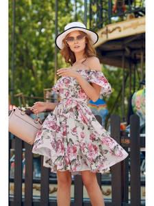 Платье короткое летнее Ц6914