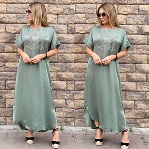 Платье длинное летнее Ч4017