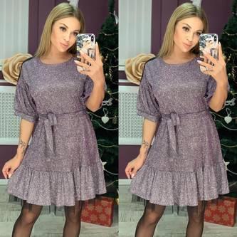 Платье короткое современное Ш7059