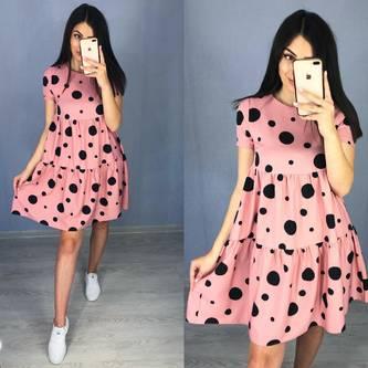 Платье короткое летнее Я6483