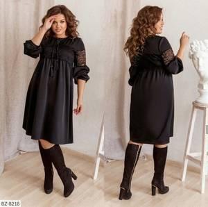 Платье короткое однотонное Я6631
