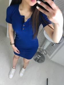 Платье короткое облегающее Ц7472