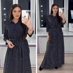 Платье длинное нарядное Я0807