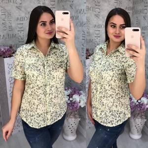 Рубашка с коротким рукавом Ц6815