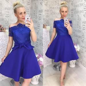 Платье короткое нарядное Ц6883