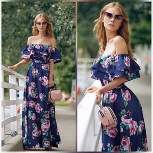 Платье длинное нарядное Ц6916