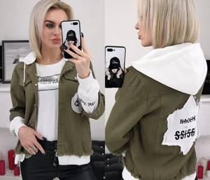 Джинсовая куртка Я2485