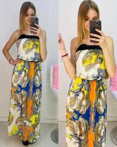 Платье длинное летнее Я7677