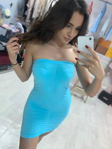 Платье короткое облегающее Ч1748