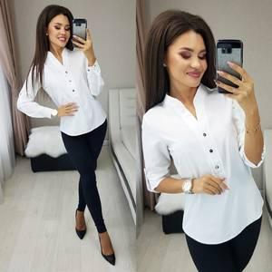 Блуза с длинным рукавом А40022