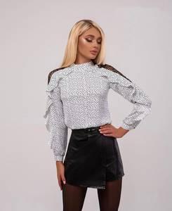 Блуза с длинным рукавом А27117