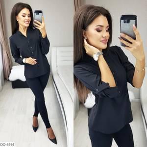 Блуза с длинным рукавом А40023